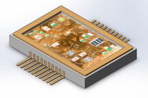 Одноканальная микросборка ВА996
