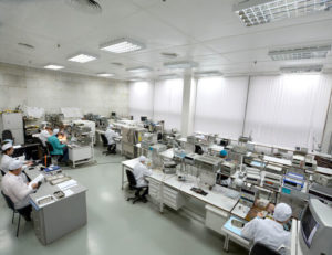 Участок функционального контроля микросборок